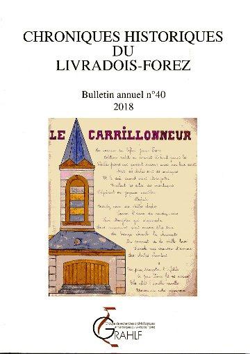 Chroniques Historiques du Livradois-Forez, bulletin n° 40