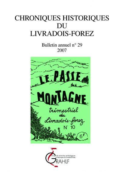 Chroniques Historiques du Livradois-Forez, bulletin annuel n° 29