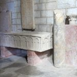 Eglise de Manglieu. Sarcophage (photo F. Burg)