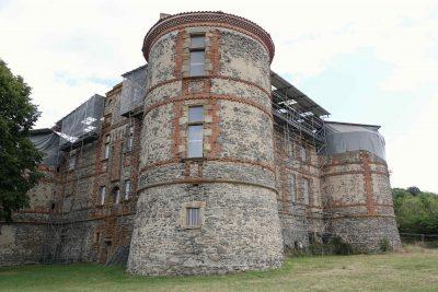 Château de la Chaux Montgros ; vue d'ensemble (photo F. Burg)