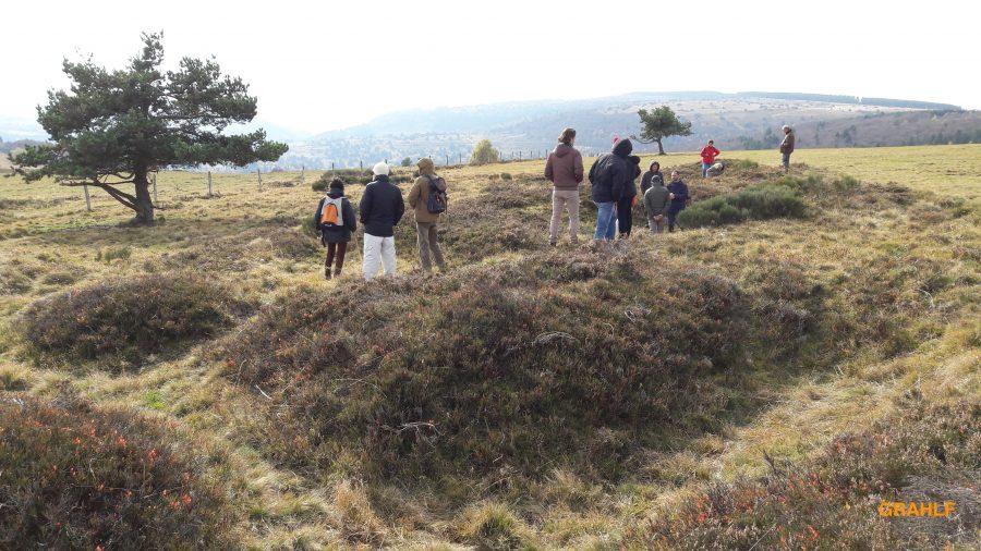Structures semi-enterrées (photo P. Terras - Grahlf)