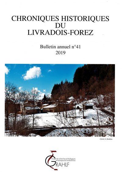Chroniques Historiques du Livradois-Forez, bulletin n° 41