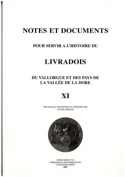 Notes et documents, tome 11 - L. Drouot