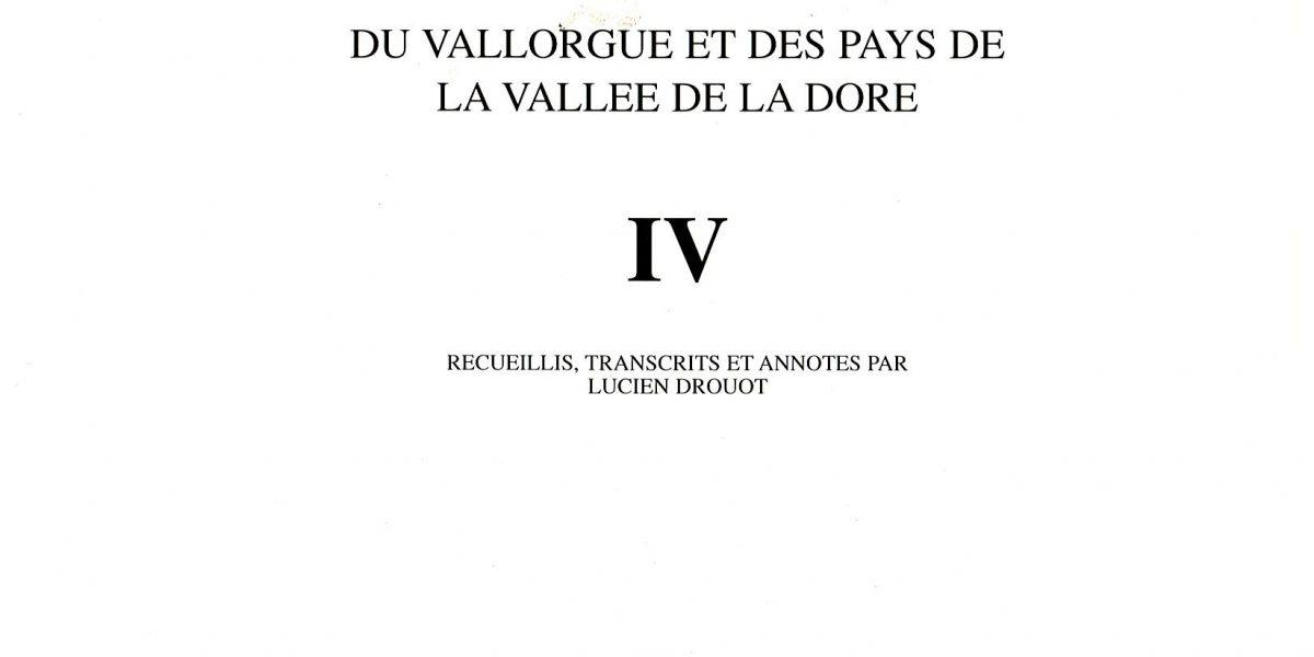 Notes et documents T4 - L. Drouot