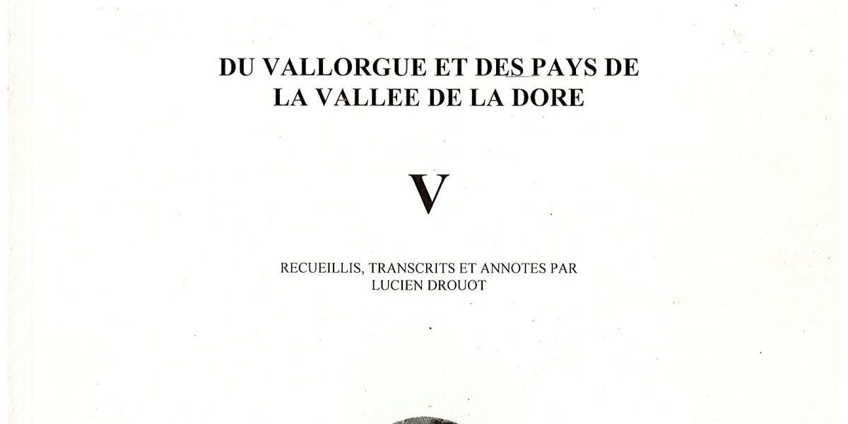 Notes et documents, T5 - L. Drouot
