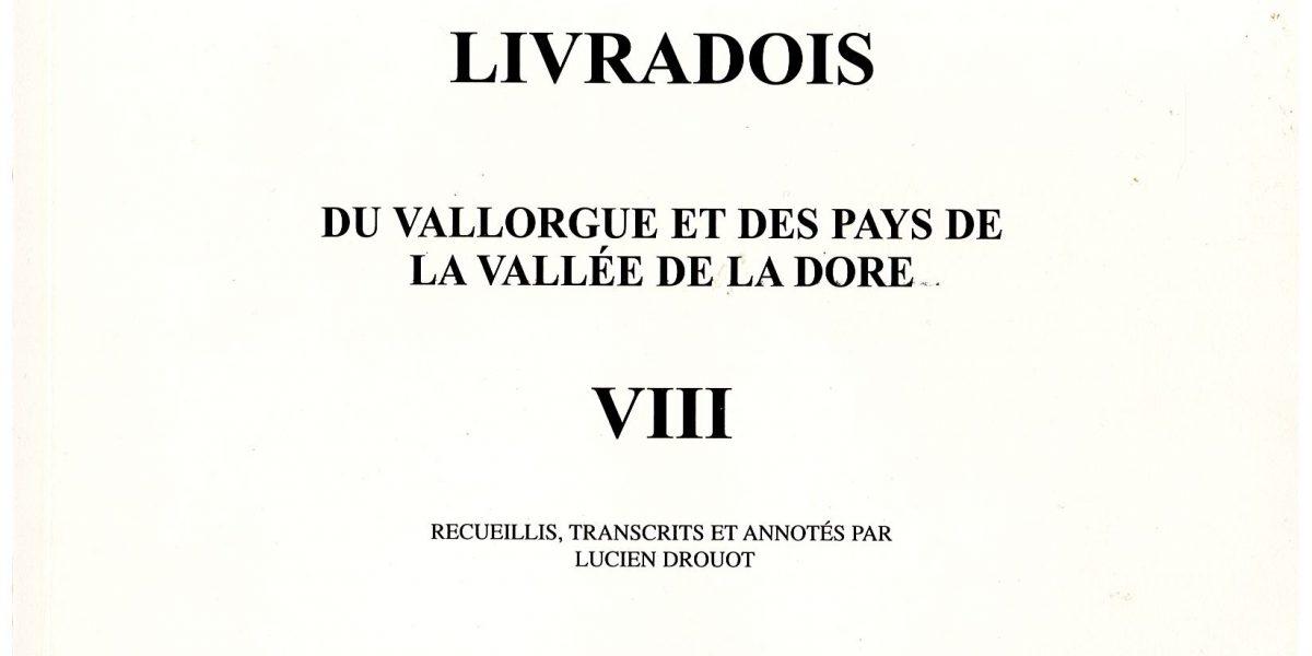 Notes et documents, T8 - L. Drouot