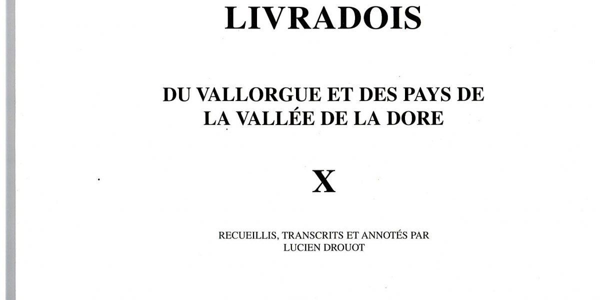 Notes et documents, T10 - L. Drouot
