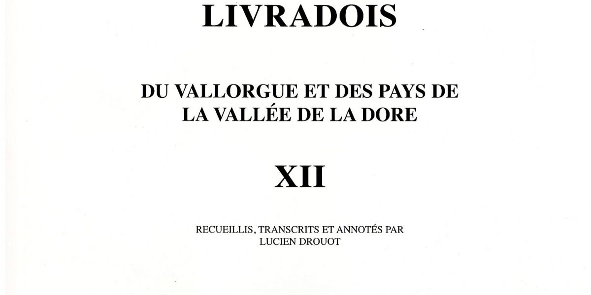 Notes et documents, T12 - L. Drouot