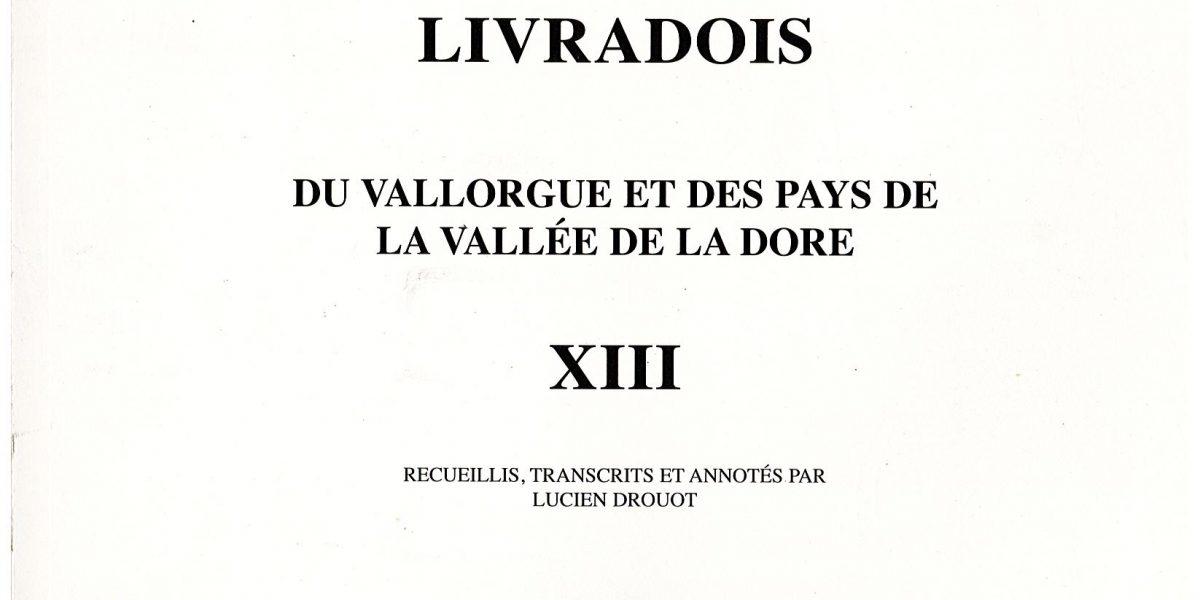 Notes et documents, T13 - L. Drouot